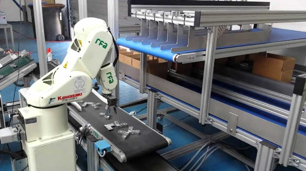 Kawasaki industrijski robot