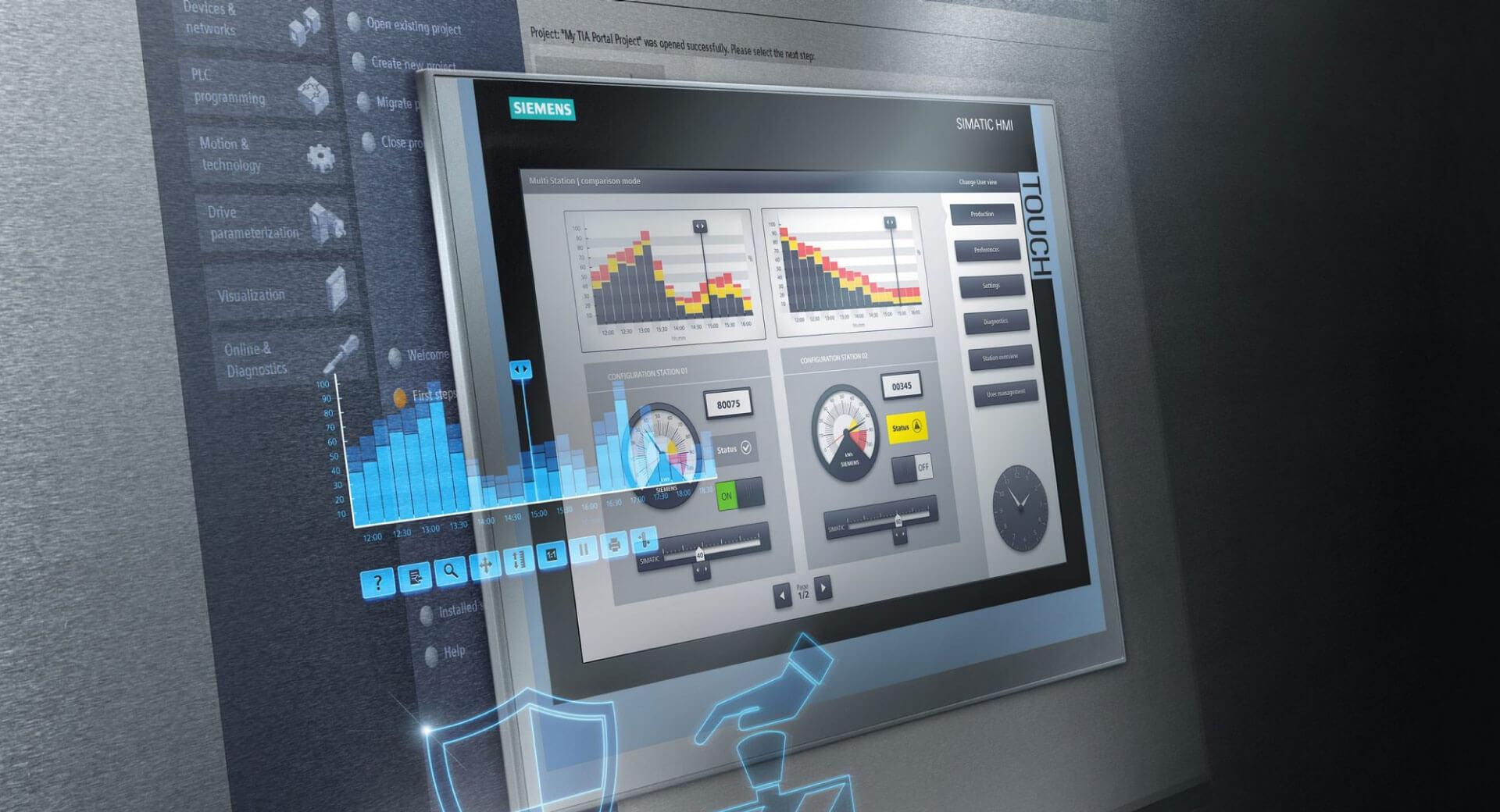 Automatizacija procesa PLC i HMI Siemens